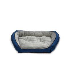Bolster Couch Small ( kék/szürke)