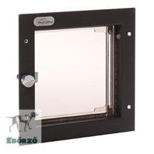 """PlexiDor® """"S"""" méretű ajtóba építhető - Bronz színű"""
