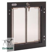 """PlexiDor® """"M"""" méretű ajtóba építhető - Bronz színű"""