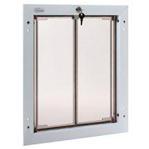 """PlexiDor® """"L"""" méretű ajtóba építhető - Fehér színű"""