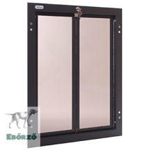 """PlexiDor® """"XL"""" méretű ajtóba építhető - Bronz színű"""