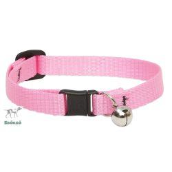 """Lupine macska nyakörv (Pink 1/2"""" CAT csengővel 21-30 cm )"""