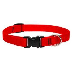 Lupine egyszínű nyakörvek közepes termetű kutyáknak - 1,9 cm széles