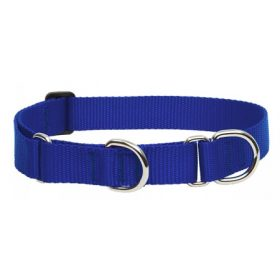 Egyszínű félfojtó nyakörvek nagytermetű kutyáknak - 2,5 cm széles