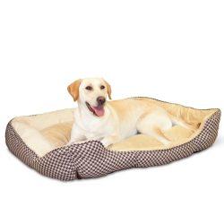 Önmelegítő Lounge Sleeper ™ Large (Barna kockás)