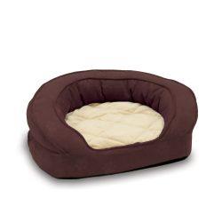 Deluxe Ortho Bolster™ kutya kanapé Medium (padlizsán színű)