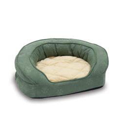 Deluxe Ortho Bolster™ kutya kanapé Large (Zöld színű)