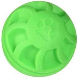 Soft-Flex Swirl Labda kutyáknak - zöld (11 cm)