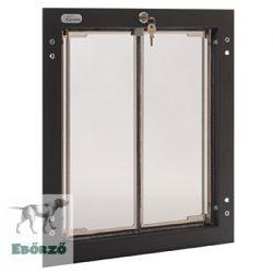 """PlexiDor® """"L"""" méretű ajtóba építhető - Bronz színű"""