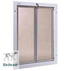 """PlexiDor® """"XL"""" méretű ajtóba építhető - Fehér színű"""