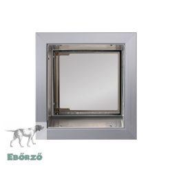 """PlexiDor® """"S"""" méretű falba építhető - Ezüst színű"""
