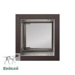 """PlexiDor® """"S"""" méretű falba építhető - Bronz színű"""