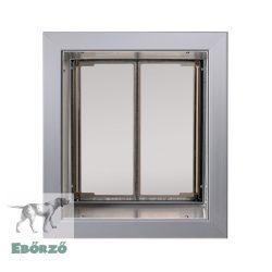 """PlexiDor® """"M"""" méretű falba építhető - Ezüst színű"""