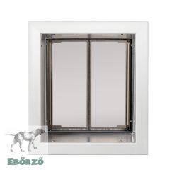 """PlexiDor® """"M"""" méretű falba építhető - Fehér színű"""