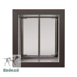 """PlexiDor® """"M"""" méretű falba építhető - Bronz színű"""