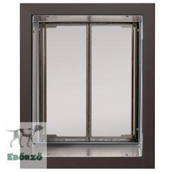 """PlexiDor® """"L"""" méretű falba építhető - Bronz színű"""