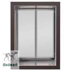 """PlexiDor® """"XL"""" méretű falba építhető - Bronz színű"""