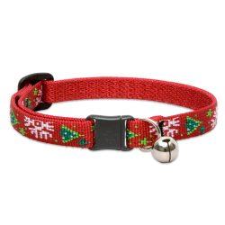 "Lupine macska nyakörv (Christmas Cheer 1/2"" CAT csengővel 21-30 cm )"