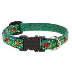 Lupine Original Collection Beetlemania Adjustable Collar 1,25 cm width 21-30 cm -  For Small Dogs