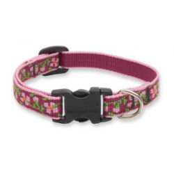 Lupine Original Collection Cherry Blossom Adjustable Collar 1,25 cm width 16-22 cm -  For Small Dogs