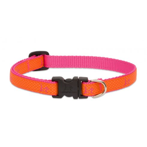 LUPINE nyakörv (CLUB Sunset Orange 1,25 cm széles 21-30 cm)