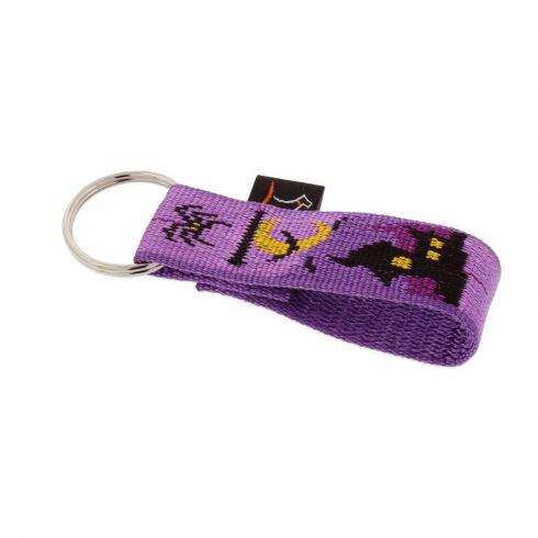 Lupine Split ring Keychain Haunted House 2,5 cm wide