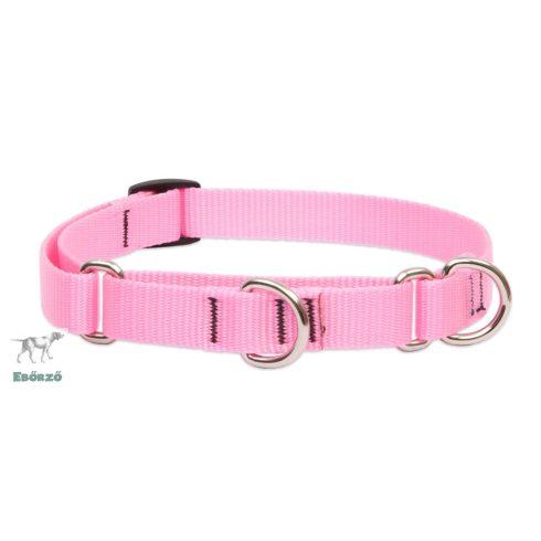 LUPINE Félfojtó nyakörv (Pink 1,9 cm széles 36-51 cm )