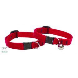 "Lupine macska nyakörv (Piros 1/2"" CAT 21-30 cm )"