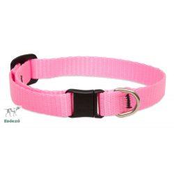 "Lupine macska nyakörv (Pink 1/2"" CAT 21-30 cm )"
