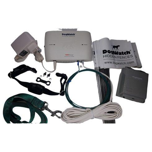 DOGWATCH® láthatatlan elektromos kutyakerítés Silver csomag