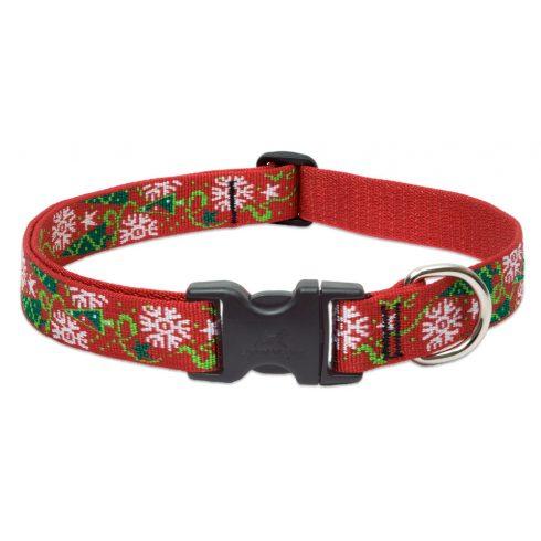 LUPINE nyakörv (Christmas Cheer 2,5 cm széles 41-71 cm)